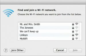 SSID Wi-Fi Protection